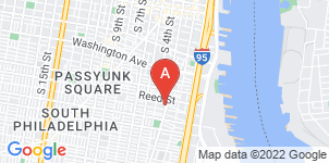 Google static map for Rogers Funeral Home