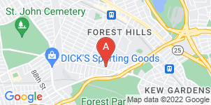 Google static map for Fox Funeral Home