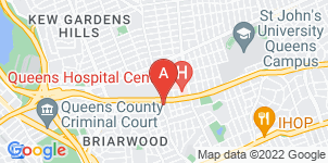 Google static map for Basile Funeral Home, Queens