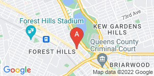 Google static map for Forest Park Chapel