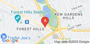 Google static map for Riverside Memorial Chapel