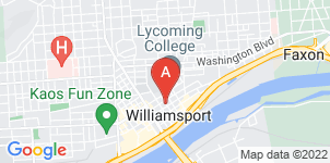 Google static map for Crouse Funeral Home