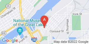 Google static map for Kinsey Funeral Home