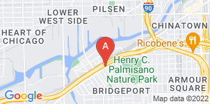 Google static map for Roberts Funeral Home