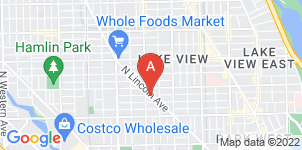 Google static map for Zuber Hallowell Funeral Home