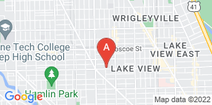 Google static map for Lakeview Funeral Home