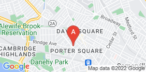 Google static map for Keefe Funeral Homes
