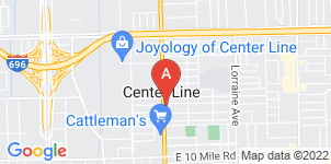 Google static map for Rudy Funeral Home