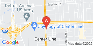 Google static map for Ford Funeral Home