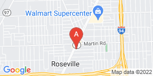 Google static map for Kaul Funeral Home
