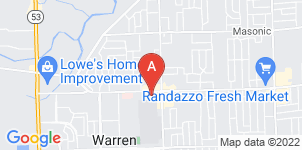 Google static map for Wasik Funeral Home, Warren