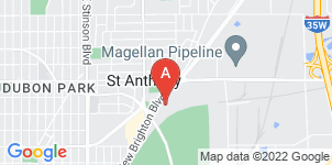 Google static map for Sunset Funeral Chapel