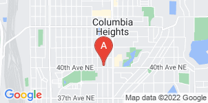 Google static map for Columbia Heights Funeral Home