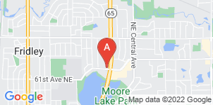 Google static map for Miller Funeral Home, Minneapolis
