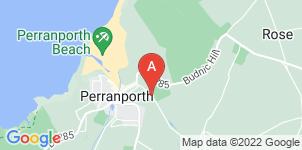 Google static map for A C Richards & Son