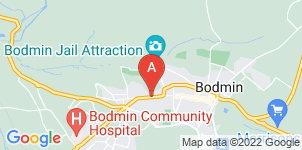 Google static map for Ken Newcombe Funeral Directors, Bodmin
