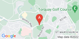 Google static map for Drakes of Torbay Funeral Service