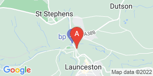 Google static map for Maddaford Funeral Services