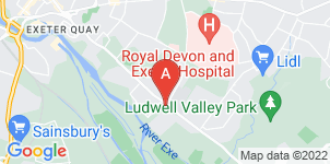 Google static map for Exeter & District Funeral Service