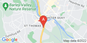 Google static map for LeRoy Funerals, Exeter (Alphington Road)