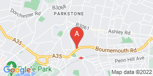 Google static map for Mews Funeral Directors