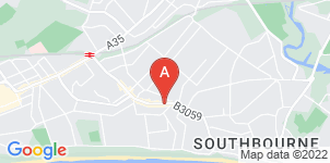 Google static map for Yeatmans Funeral Directors, Bournemouth