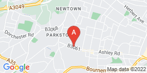 Google static map for Ives & Shand Funeral Service