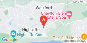 Google static map for Moodys Funeral Directors, Christchurch