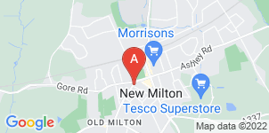 Google static map for Moodys Funeral Directors, New Milton
