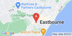 Google static map for The Co-operative Funeralcare, Eastbourne
