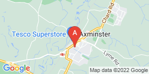 Google static map for W.G Potter Funeral Directors