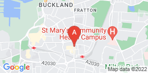 Google static map for A G Stapleford & Sons Funeral Directors, Fratton Road