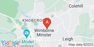 Google static map for Nicholas O'Hara Funeral Directors Ltd, Wimborne