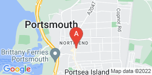 Google static map for G Andrews And Sons Funeral Directors