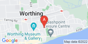 Google static map for Marian Down Funeral Director