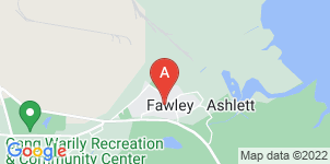 Google static map for New Forest Funerals