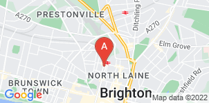 Google static map for Arka Original Funerals, Surrey St