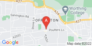Google static map for Affinity Funeral Services Ltd
