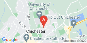 Google static map for Dillistone & Wraights Funeral Directors, Chichester