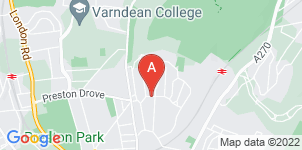 Google static map for Attree & Kent Funeral Directors, Brighton