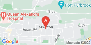 Google static map for Meridian Funeral Services
