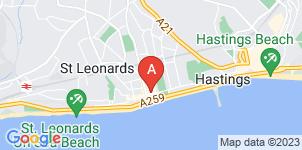 Google static map for Arthur C Towner Ltd, Saint Leonards-on-sea