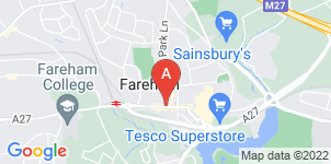 Google static map for McIntosh Funeral Directors
