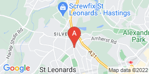 Google static map for The Co-operative Funeralcare, St. Leonards-On-Sea