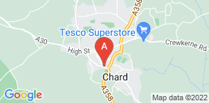 Google static map for A J Wakely & Sons Ltd, Chard