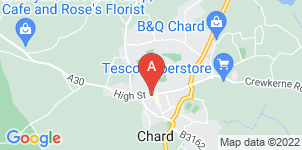 Google static map for Friendship & Sons Funeral Directors, Chard