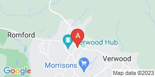 Google static map for Nicholas O'Hara Funeral Directors Ltd, Verwood