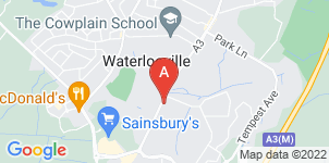 Google static map for Barrells Funeral Directors Ltd