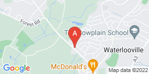 Google static map for Moore's Traditional Funeral Directors