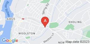 Google static map for B Matthews Funeral Directors, Woolston